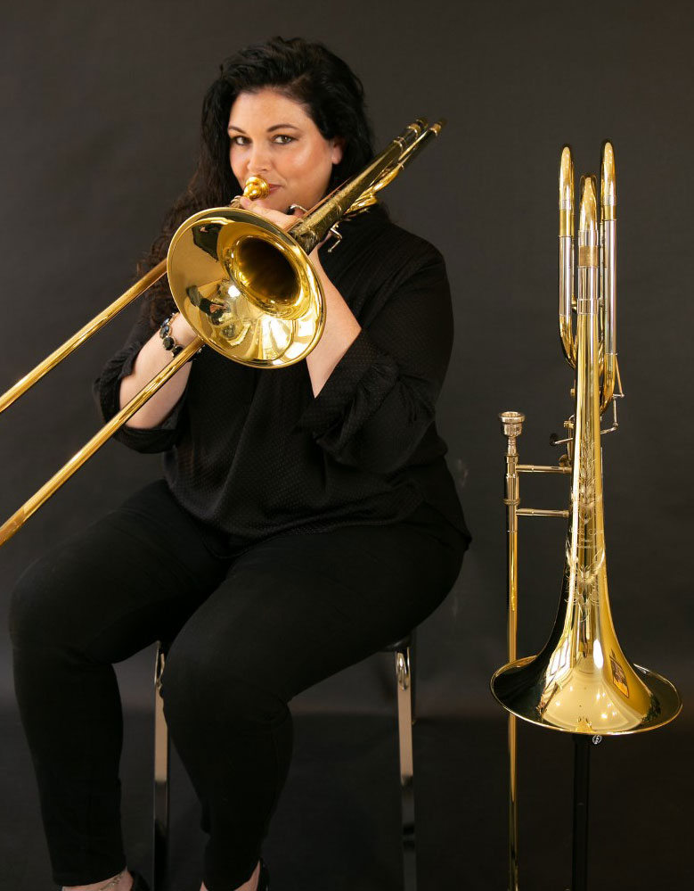 Hollie Lawing Pritchard Bass Trombonis - Kennesaw State School of Music