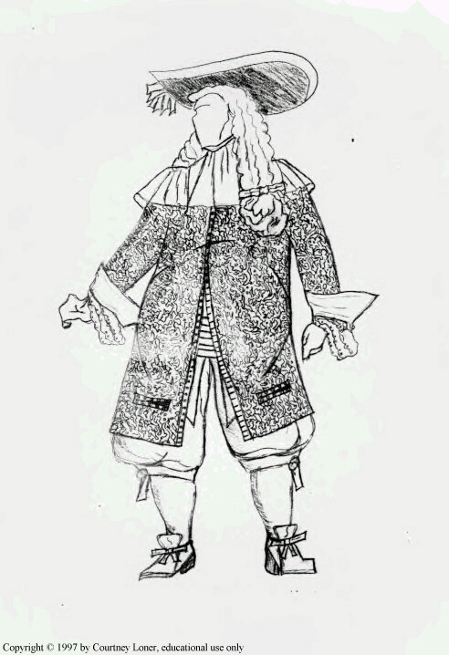 17th century French man